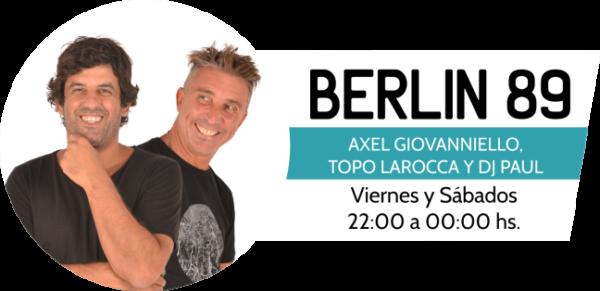 Berlin 89 programa de la radio Urbana de la República del Paraguay.