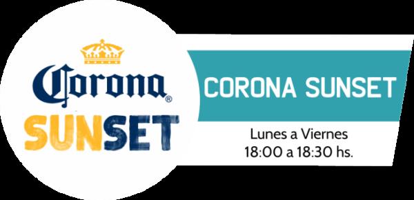 Corona Sunset programa de la radio Urbana de la República del Paraguay.
