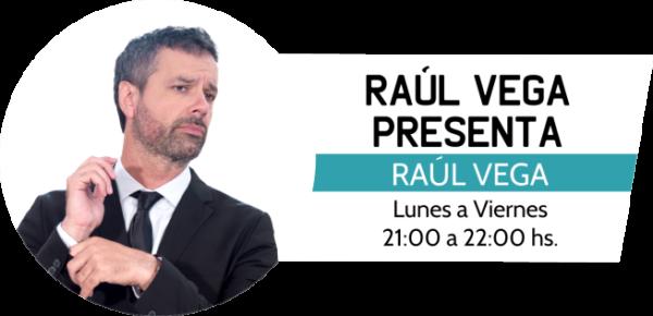 Raúl Vega Presenta programa de la radio Urbana de la República del Paraguay.