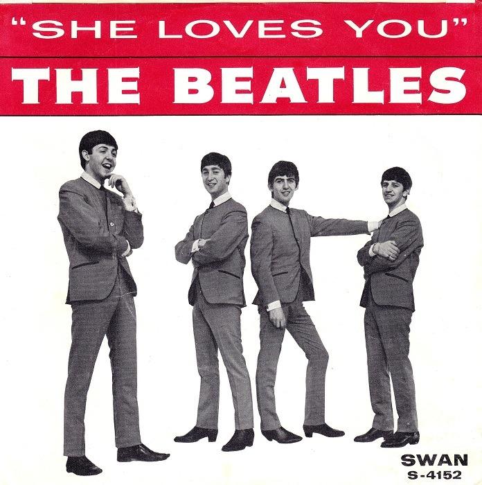 56 años de 'She Loves You' el sencillo más vendido de The Beatles
