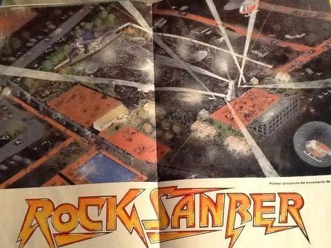 Rock Sanber y el grito anticipado de libertad