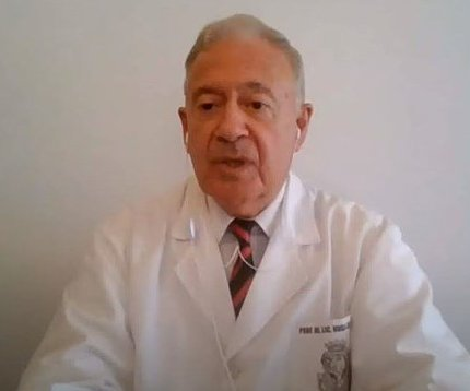 """""""Tuve una desgraciada equivocación"""" Dr. Hugo Pizzi, infectólogo argentino"""