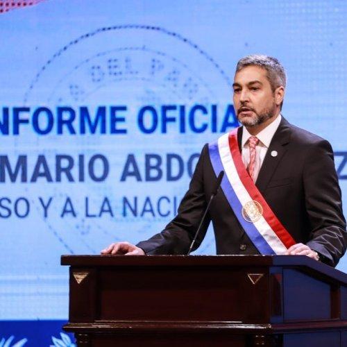 Segundo informe Presidencial de Mario Abdo Benítez