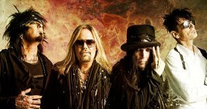Mötley Crüe celebra su 40 aniversario este fin de semana